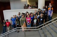 Columbus Library Youth Intern Group Photo