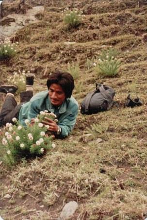 Khusiram Pakhrin in Humla, 1991.