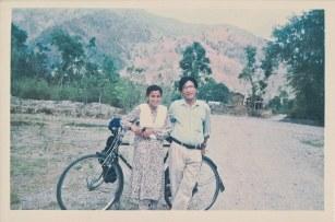 Sharada Shrestha and Khusiram Pakhrin, Shaktikhor, Chitwan, April, 1997.