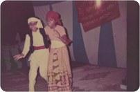 Sharmila Pathak and Nita Sharma, Jalandar, Punjab, 1987.