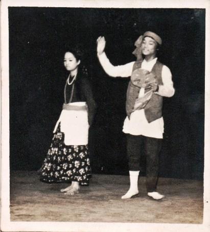 Shanti Shah and Umba Raj Gurung, Madras 1981