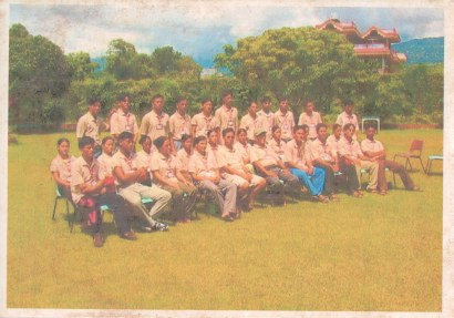 Western Samana ready for tour, Pokhara, 2004.