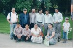 Khusiram Pakhrin and friends in Belgium, 2009.