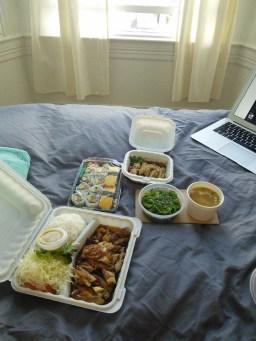 Dinner delivered!