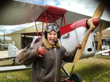 Heading up in a Tiger Moth with Classic Flights