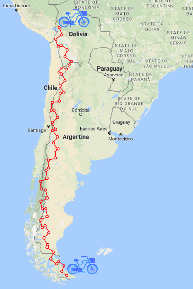 andes map