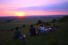 Sunset at Ivinghoe Beacon, near Tring