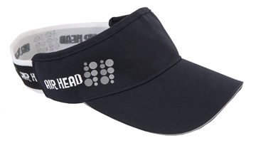 Crewroom Airhead visor (To keep the sun off of my peachy skin)