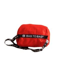 Дамска чанта 01-17-164-70 червена с пайети