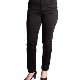 Дамски панталон 20-400-1 черен