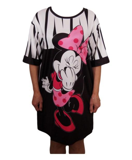 Дамска спортна рокля 018-312-3 с Мини Маус