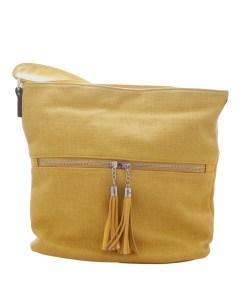Дамска чанта 002-700-71 малка цвят горчица