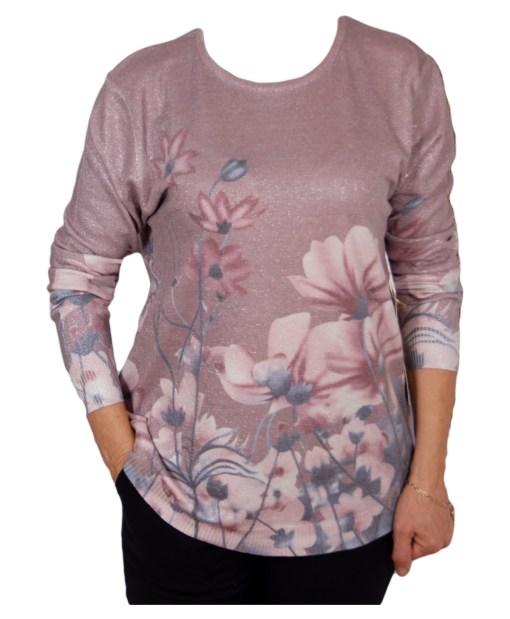 Дамски пуловер 2-392-5