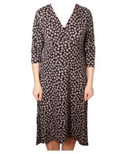 Дамска рокля 017-198-5 цвят черен