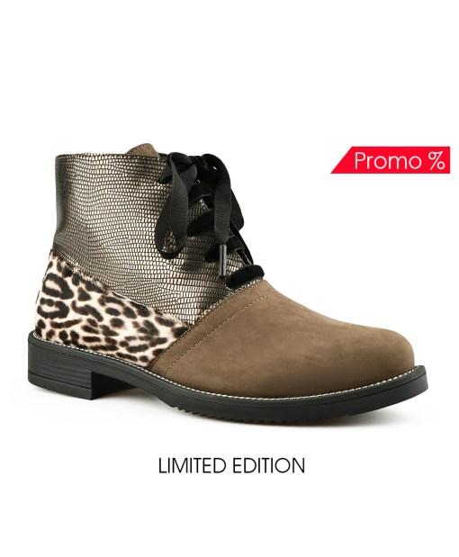 Дамски обувки естествена кожа 08-180-4 цвят кафяв