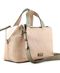 Дамска чанта 002-699-6 цвят бежов