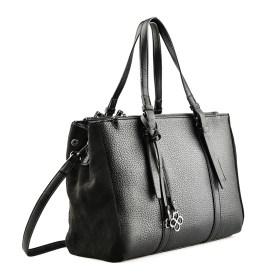 Дамска чанта 002-699-3 цвят черен