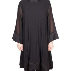 Дамска рокля XL 18-190-64 цвят черен