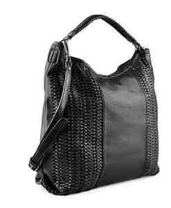 Дамска чанта 002-695-51 цвят черен