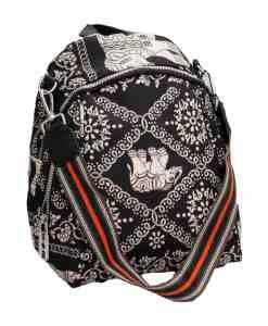Дамска чанта 002-697-3 цвят черен
