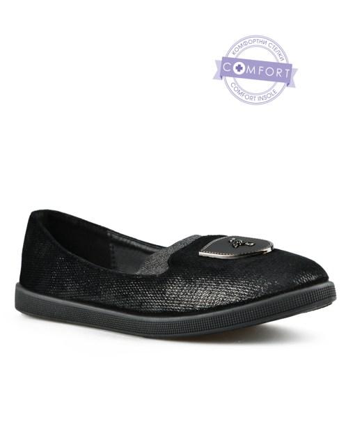 Дамски обувки 085-61 цвят черен