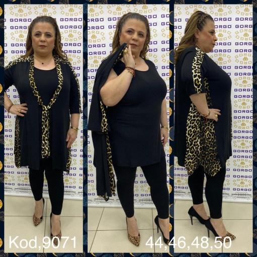 Дамска блуза XL 119-254-2 комплект 2 части