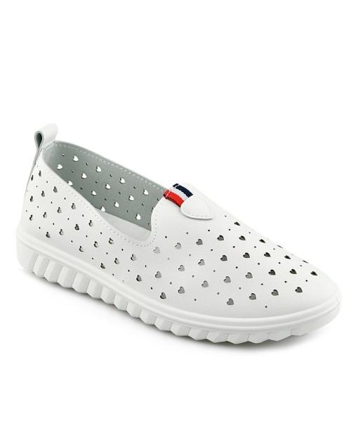 Дамски обувки 085-98 цвят бял