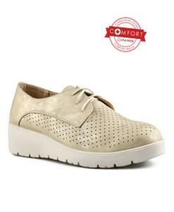 Дамски обувки 085-55 цвят старо злато