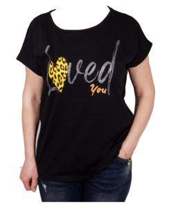 Дамска блуза 01-209-11 цвят черен