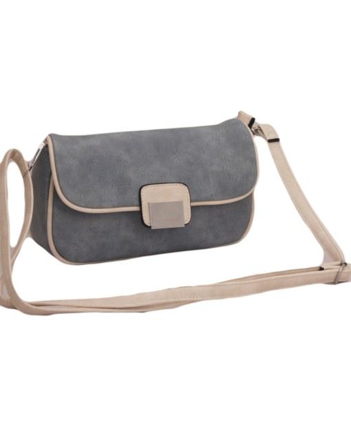 Дамска чанта 002-694-102 цвят деним