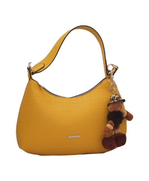 Дамска чанта 002-692-62 цвят горчица