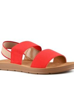 Дамски сандали 21-100-4 цвят червен