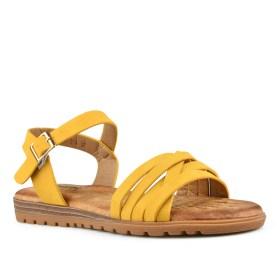 Дамски сандали 21-100-2 цвят жълт