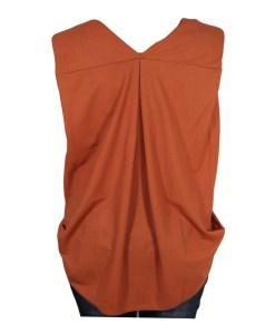 Дамска блуза 0019-562-7 цвят керемида