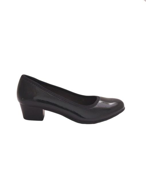 Дамски обувки 086-04 цвят черен лак