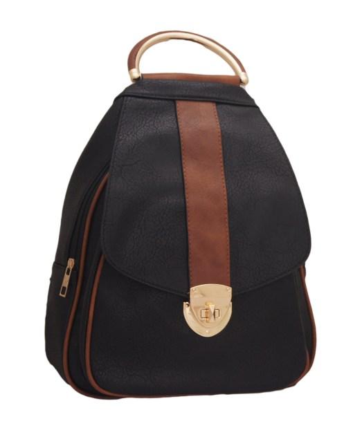 Дамска чанта 002-691-45 цвят черен