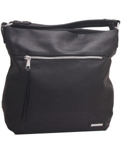 Дамска чанта 002-690-1 цвят черен