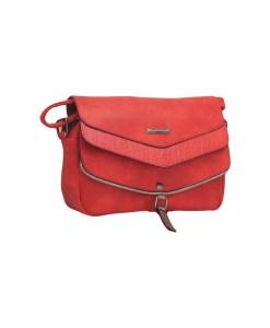 Дамска чанта 002-690-64 цвят червен