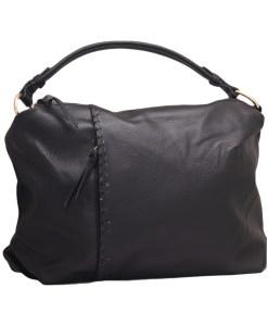 Дамска чанта 002-690-3 цвят черен