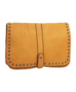 Дамска чанта 002-690-60 цвят горчица