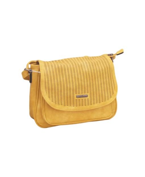 Дамска чанта 002-690-63 цвят горчица