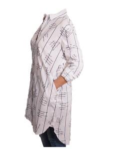 Дамска блуза 00-572-5 цвят бял