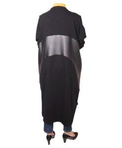 Дамска рокля XL 18-189 цвят черен