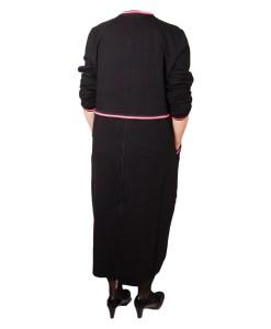 Дамска рокля XL 18-189-2цвят черен
