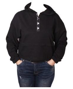 Дамска блуза 00-571-31 цвят черен