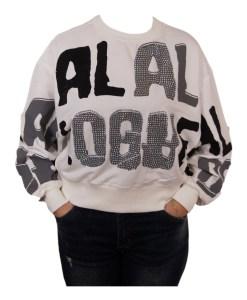 Дамска блуза 00-571-26 цвят бял