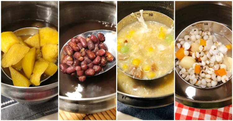 ✪媽媽的愛心✪游泳課後補充熱量的溫暖湯品。準備小撇步大公開
