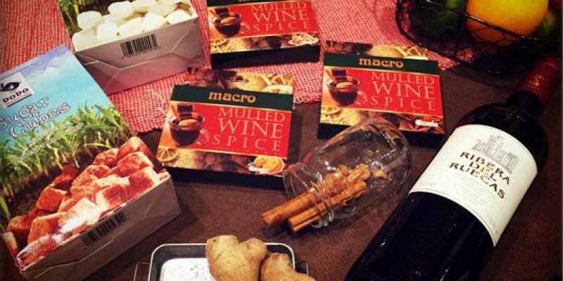 Macro熱紅酒香料。讓寒冬中擁有溫暖的微醺感