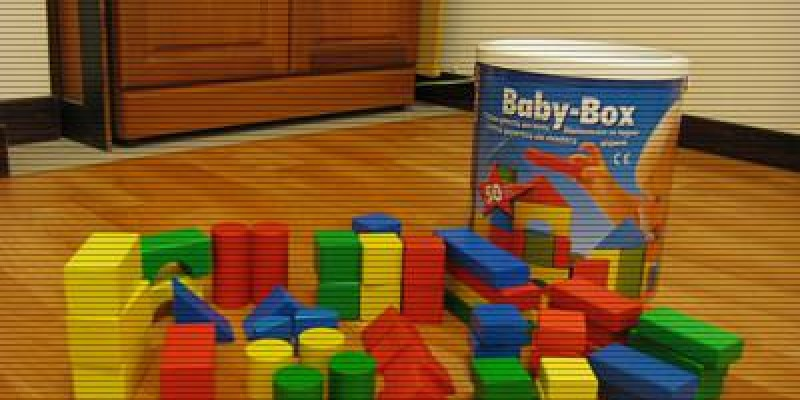 德國 HEROS Baby-Box 寶貝桶積木