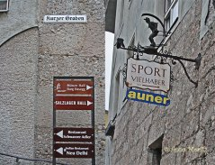 signs and places , Hall in Tirol
